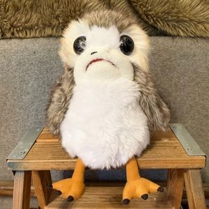 Star Wars The Lasst Jedi Deluxe Plush Porg